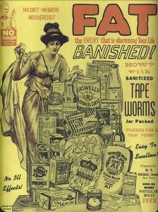 Tapeworm Diet ad