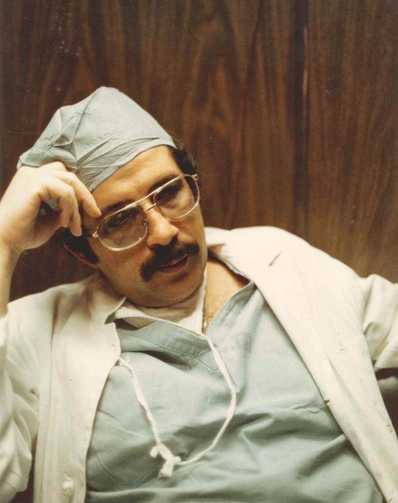 Dr. Ronald Krome, Detroit General Hospital, c. 1975. Courtesy of Dr. Sidney Krome.